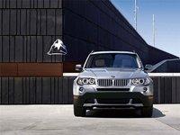 2009 BMW X3, Front View, exterior, manufacturer