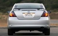 2009 Scion tC, Back View, manufacturer, exterior