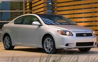 2009 Scion tC, Front Right Quarter View, exterior, manufacturer
