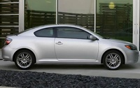 2009 Scion tC, Right Side View, manufacturer, exterior