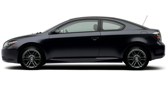 2009 Scion tC, Left Side View, manufacturer, exterior