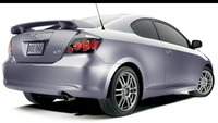 2009 Scion tC, Back Right Quarter View, exterior, manufacturer