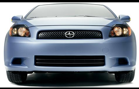 2009 Scion tC, Front View, manufacturer, exterior
