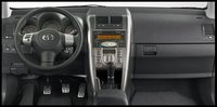 2009 Scion tC, Interior Front Dash View, interior, manufacturer
