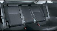 2009 Scion tC, Interior Backseat View, interior, manufacturer