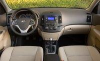 2009 Hyundai Elantra, Interior Front View, interior, manufacturer, gallery_worthy