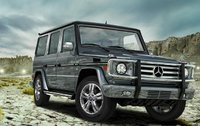 2009 Mercedes-Benz G-Class, Front Right Quarter View, manufacturer, exterior