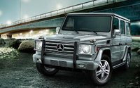 2009 Mercedes-Benz G-Class, Front Left Quarter View, manufacturer, exterior