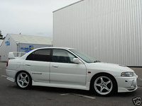 1996 Mitsubishi Lancer Evolution GSR picture, exterior