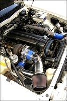 Picture of 1989 Mazda 929, engine