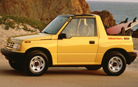 1993 Geo Tracker Overview