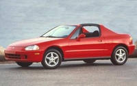 1997 Honda Civic del Sol Overview