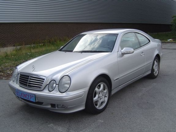 2001 mercedes benz clk320 coupe