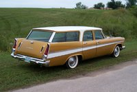 1957 Plymouth Belvedere, 57 Sport Suburban after a new paint job ... , exterior