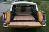 1957 Plymouth Belvedere, Trying to improve the interior, using some oak laminate ... , exterior