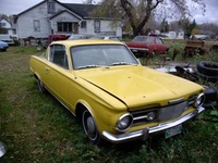 1965 Plymouth Valiant, Kind of Rusty but has potential , exterior