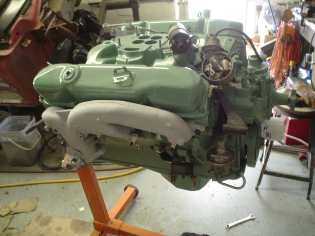 1968 Chrysler New Yorker, The 440 TNT engine after a fresh rebuild ... , engine, gallery_worthy