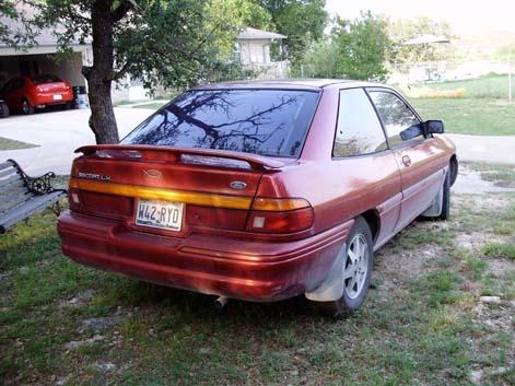 1996 ford escort lx hatchback