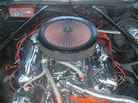 1976 Chevrolet El Camino picture, engine