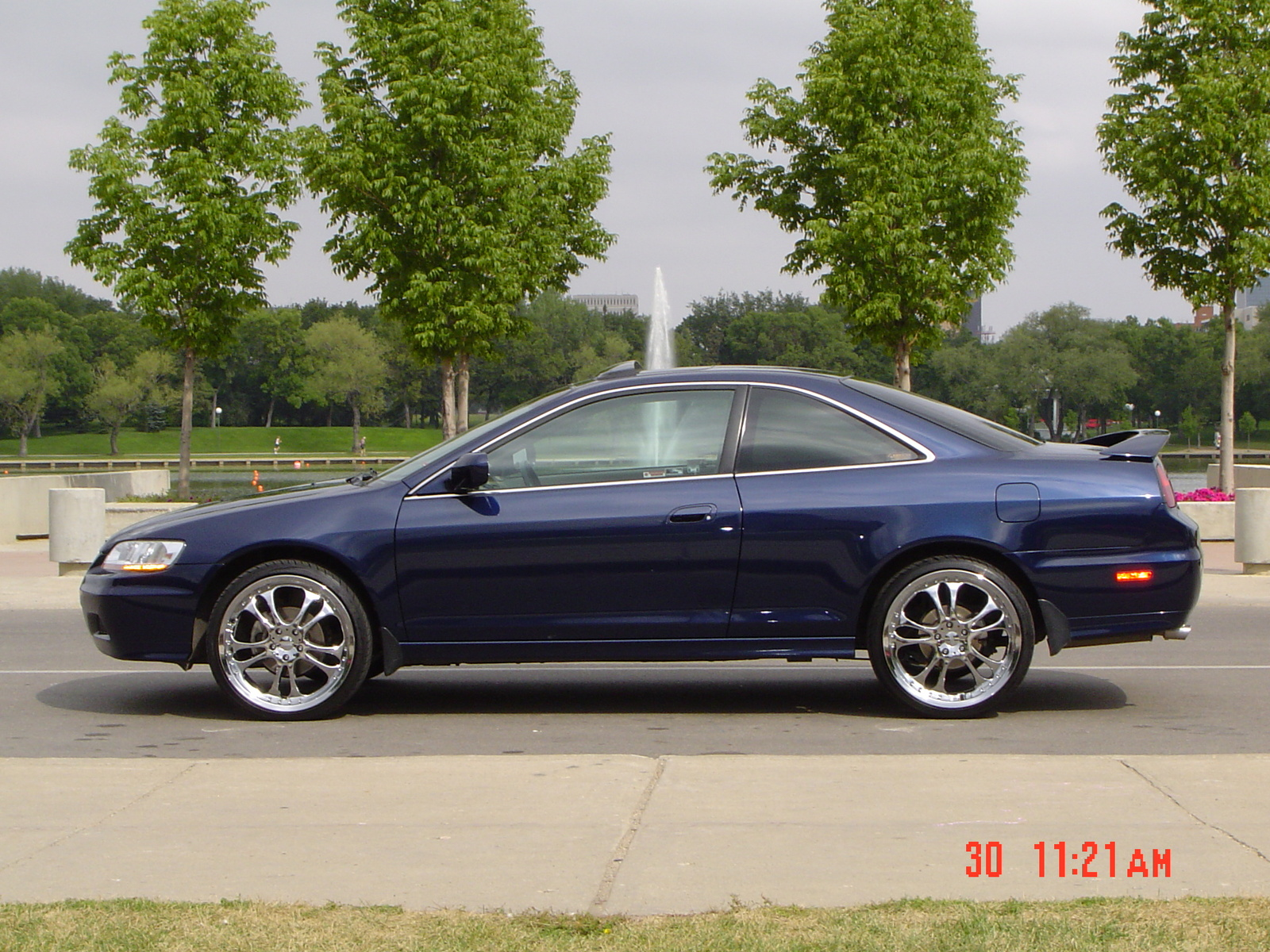 2001 Honda Accord EX V6 Coupe picture, exterior