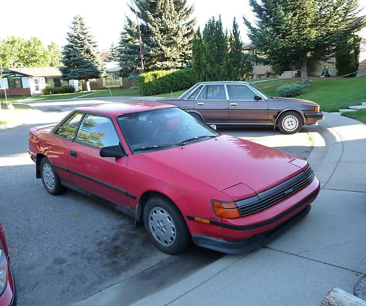 Toyota Celica Coupe Hatchback To: 1989 Toyota Celica