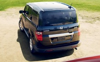 2009 Honda Element, back view, manufacturer, exterior
