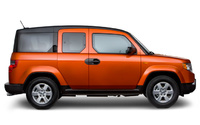 2009 Honda Element, side view, manufacturer, exterior