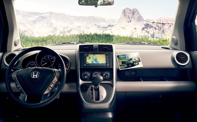 2009 Honda Element, dashboard, manufacturer, interior