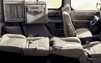 2009 Honda Element, fold down seating, interior, manufacturer