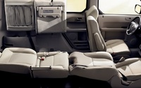 2009 Honda Element, fold down seating, manufacturer, interior
