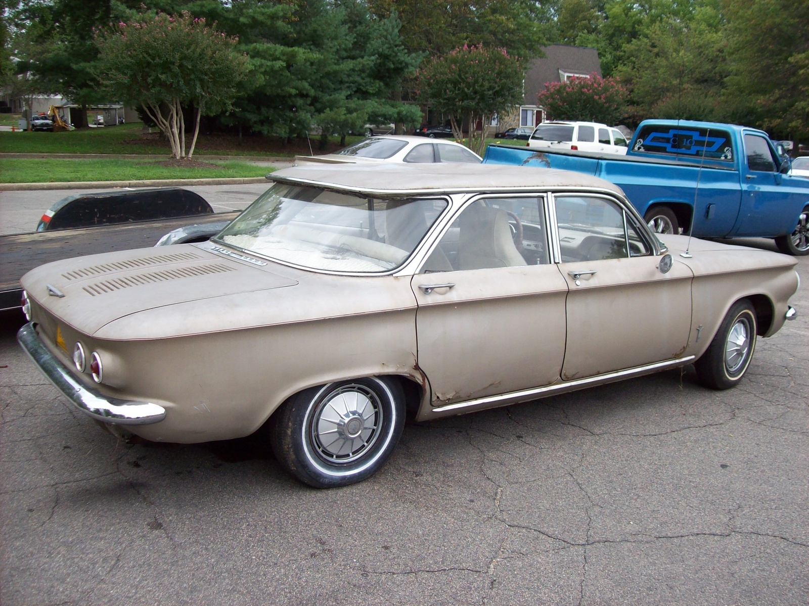 1961 Chevrolet Corvair on chevy power window motor replacement