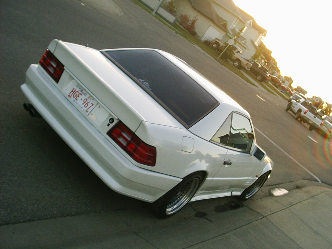 1990 Mercedes-Benz SL500 picture