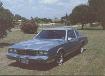 1985 Chevrolet Monte Carlo - Pictures - 1987 Chevrolet Corsica picture ...