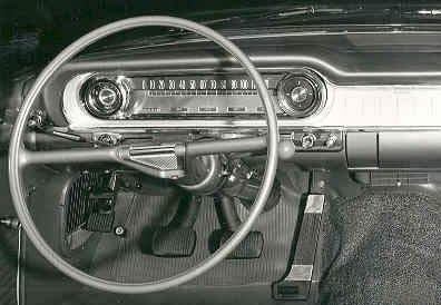1960 Oldsmobile Eighty-Eight, 60 Olds Stick, interior