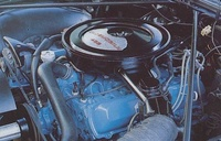 1975 Oldsmobile Cutlass picture, engine