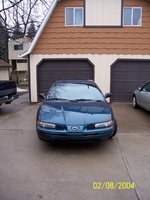 Picture of 1996 Eagle Vision 4 Dr TSi Sedan, exterior