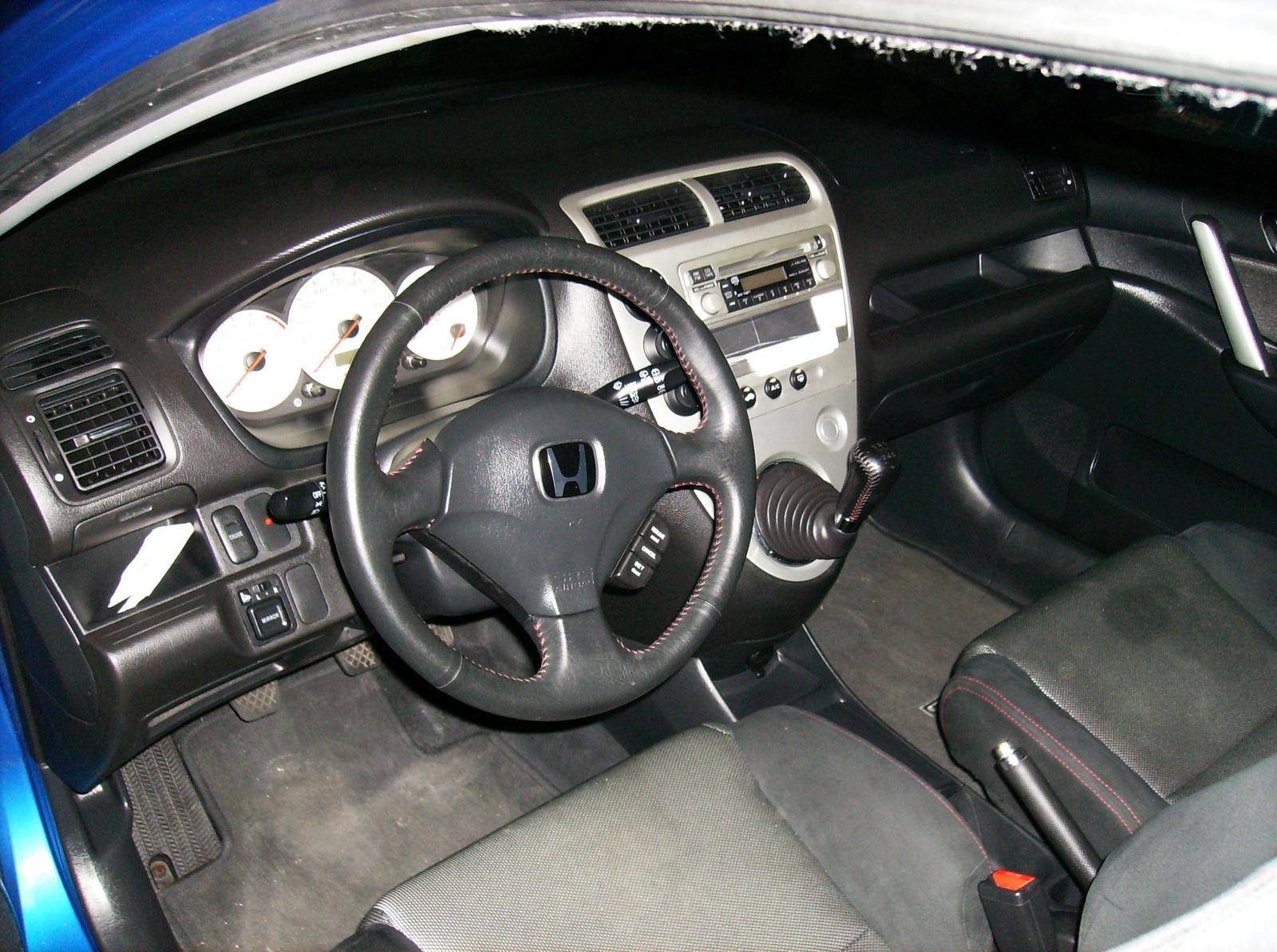 picture of 2004 honda civic si hatchback interior. Black Bedroom Furniture Sets. Home Design Ideas