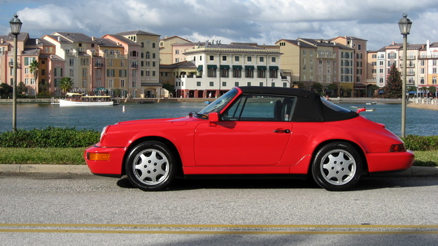 Picture of 1990 Porsche 911 Carrera Convertible, exterior, gallery_worthy