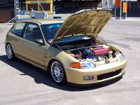 Picture of 1993 Honda Civic DX Hatchback, engine, gallery_worthy