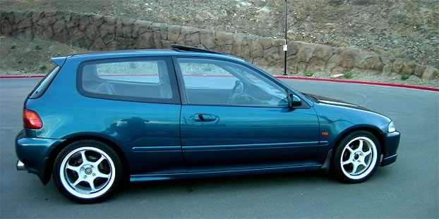 1993 honda civic hatchback - photo #23
