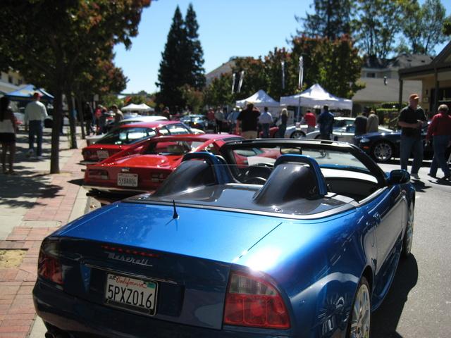 2005 Maserati Spyder 2 Dr Cambiocorsa Convertible, In the Danville Auto Show 2007, exterior