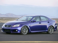 2009 Lexus IS F Overview