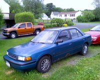 Picture of 1993 Mazda Protege 4 Dr DX Sedan, exterior