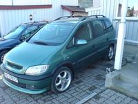 2000 Opel Zafira Overview
