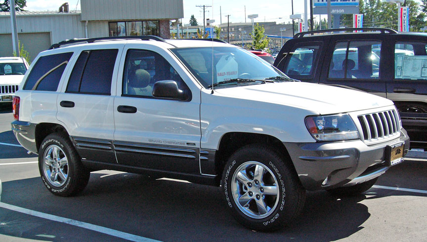picture of 2004 jeep grand cherokee columbia edition 4wd exterior. Black Bedroom Furniture Sets. Home Design Ideas