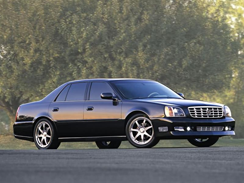 2003 Cadillac Deville Dts. 2002 Cadillac DeVille DTS