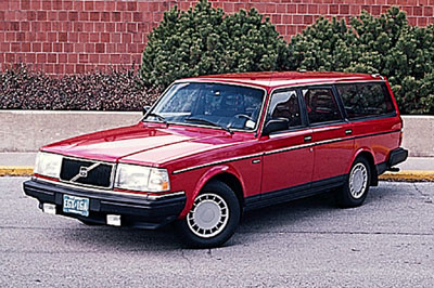 Picture of 1993 Volvo 240 Wagon, exterior