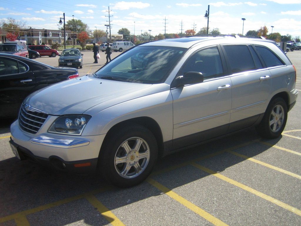 2005 chrysler pacifica touring reviews