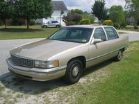 Picture of 1994 Cadillac DeVille Base Sedan, exterior