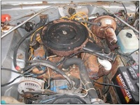 1975 Plymouth Valiant picture, engine